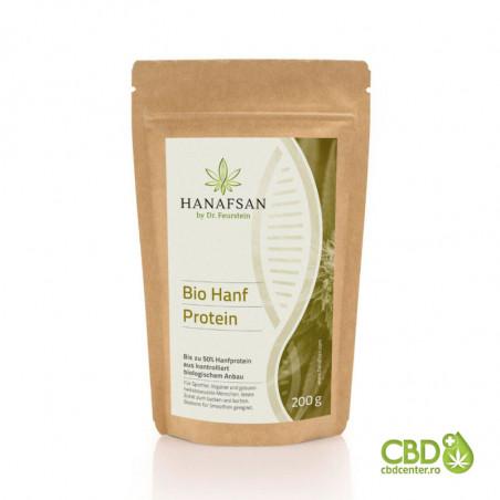 Proteină organică de cânepă 50%